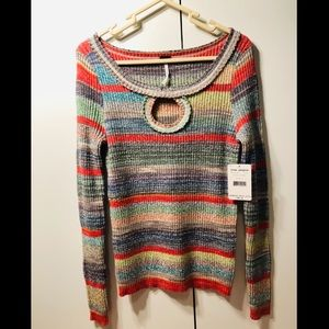 FREE PEOPLE sunshine dreamer sweater